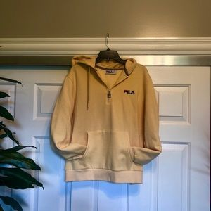 fila half zip sweatshirt